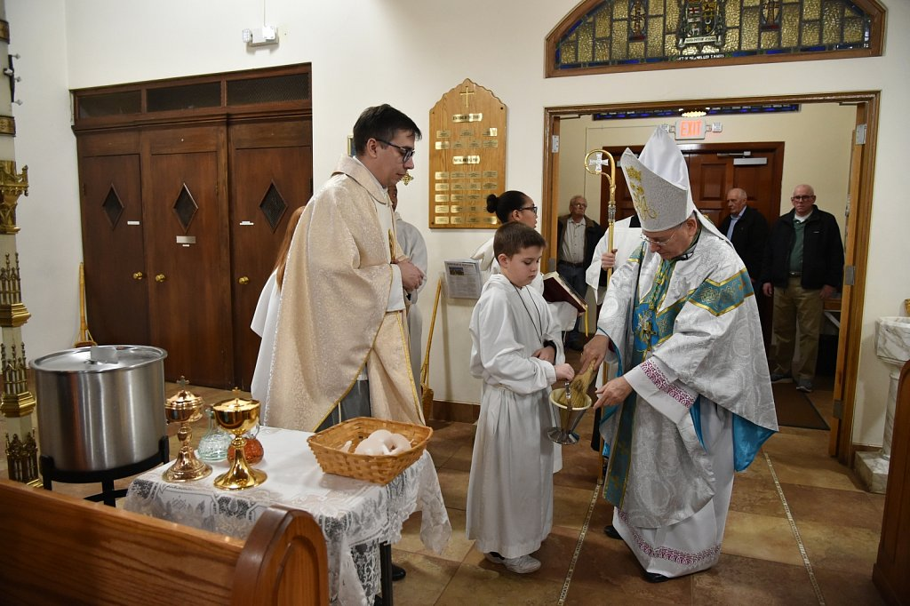 20200201 5pm Mass at Sacred Heart