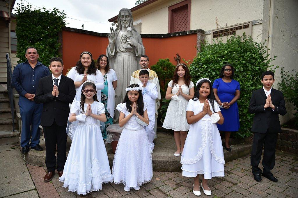 20200711 Blessed Sacrament 1st Communion
