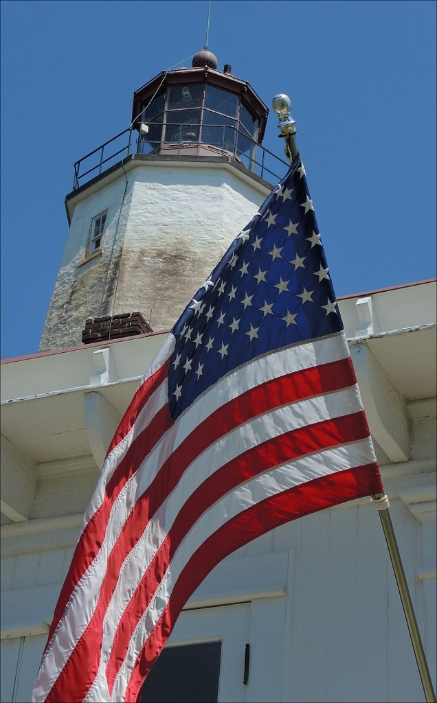 Old Glory & The Lighthouse