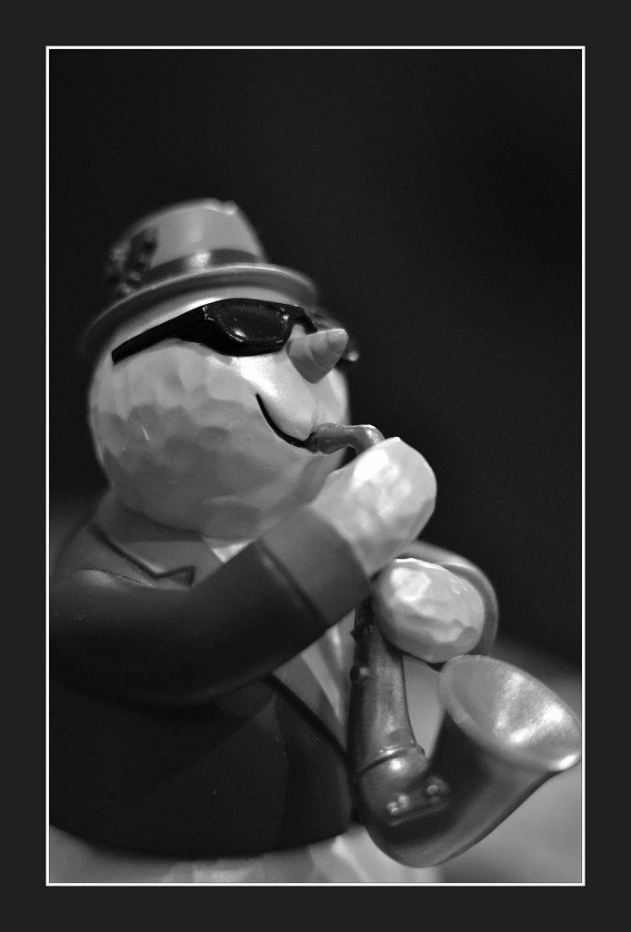 Jazz Snowman