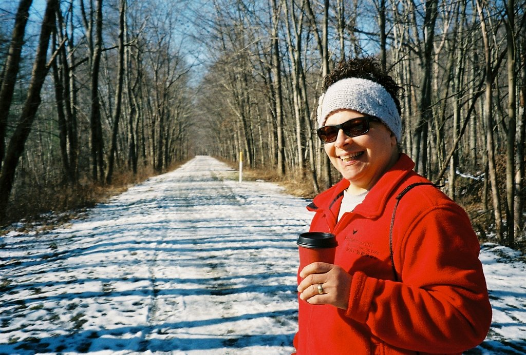 Jeanne On The Columbia Trail