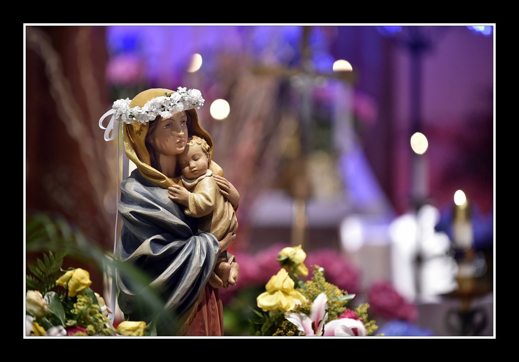 Mary at Saint Paul RC Church