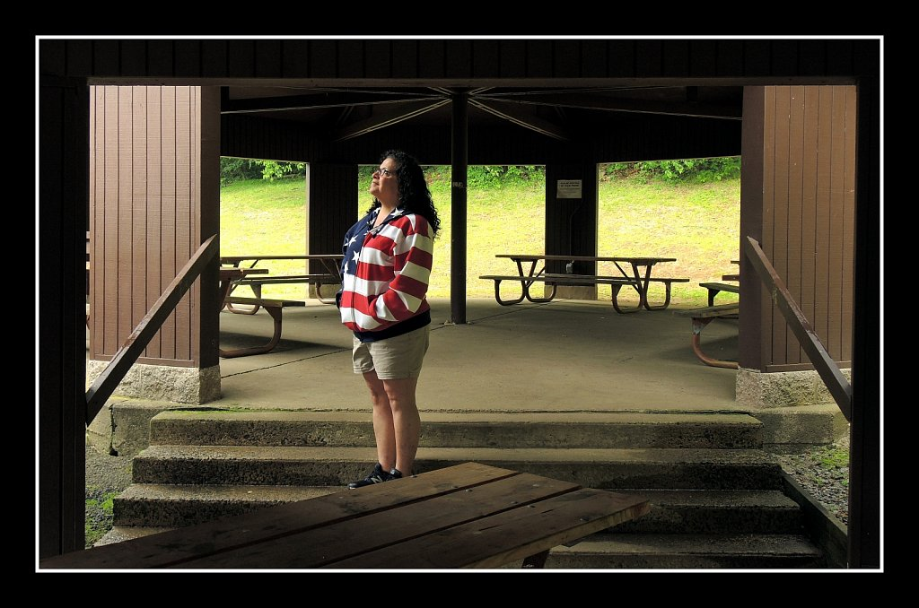 Jeanne at Schooley's Mountain Park