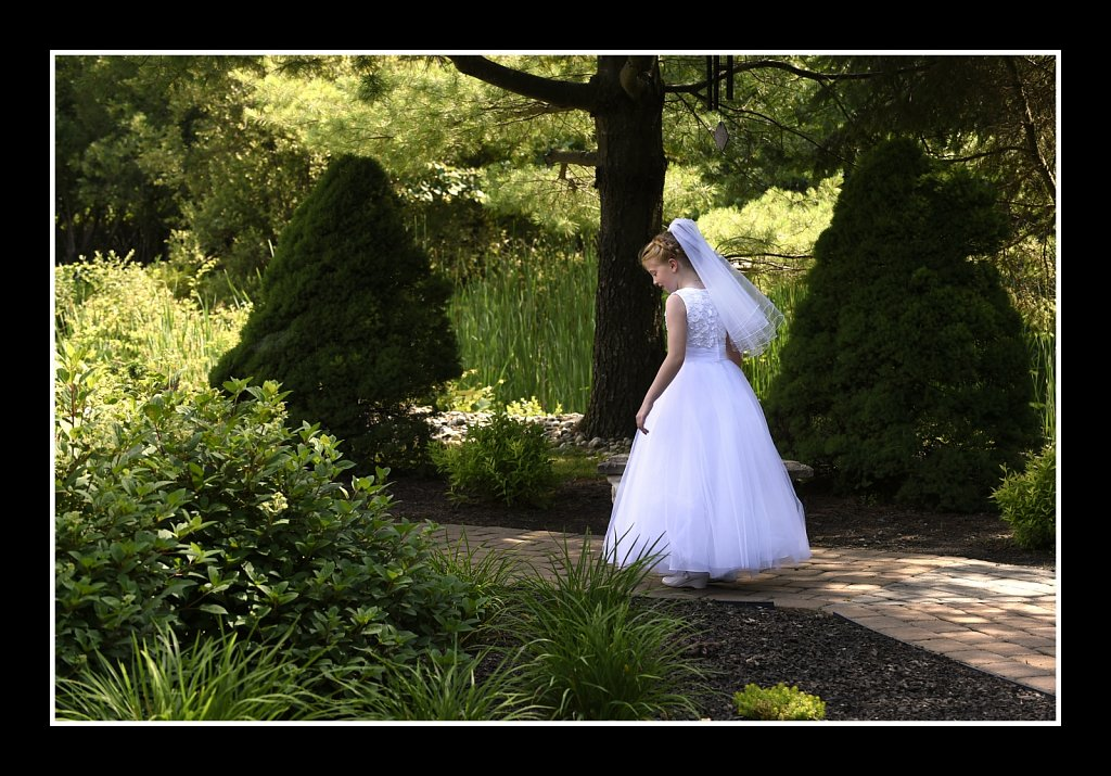 A Walk In The Prayer Garden