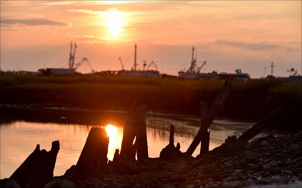Sunset at Two Mile Landing