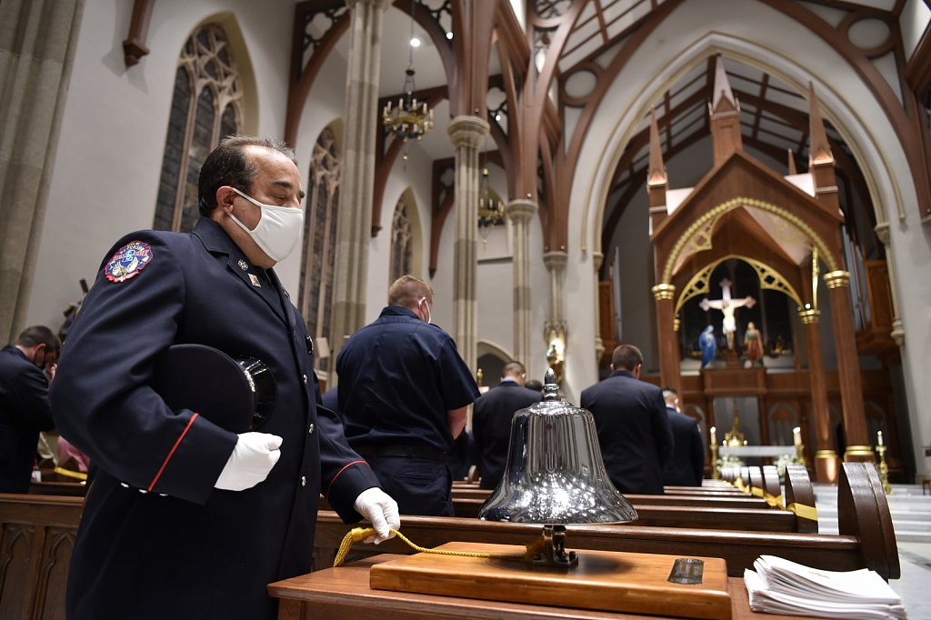 Firefighters Red Mass